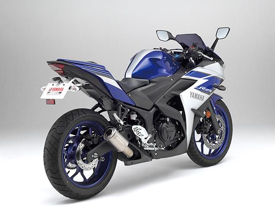 MotoGPマシンの技術を生かしたスリップオン